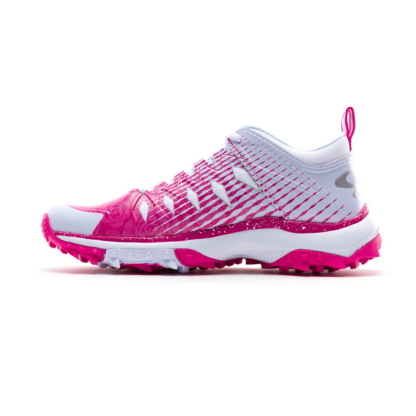 Boombah Women's Squadron Turf Shoes - 14 Color Options - Multiple Sizes B07CRPWZQM 9 White/Pink
