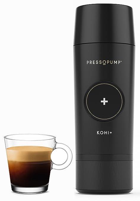 Amazon.com: Mini Cafetera Espresso de Pressopump, Negro ...