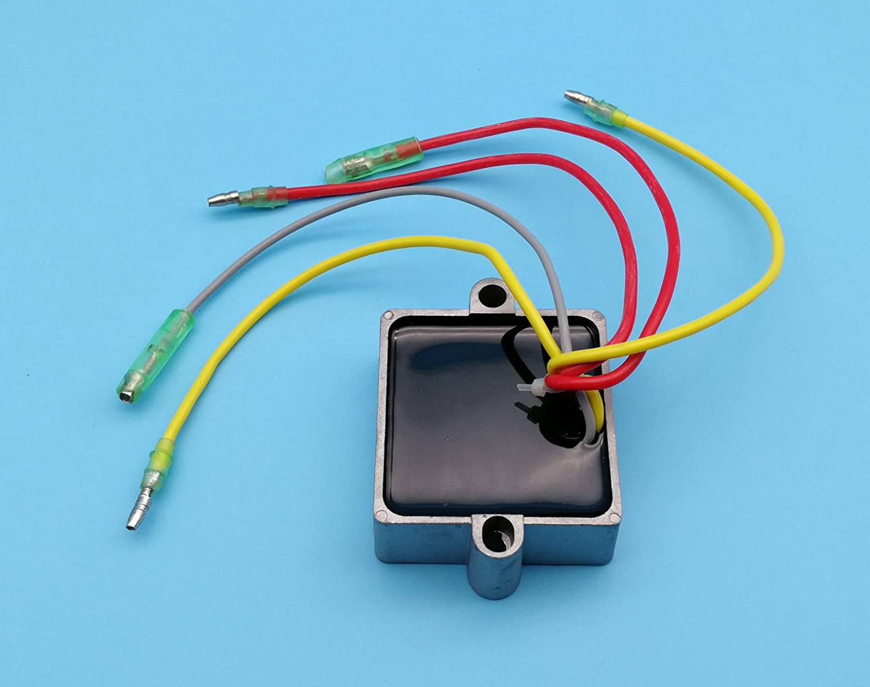 Tuzliufi Voltage Regulator Rectifier Replace Mercury 1992 Force 70 Hp Outboard Motor Diagram Wiring Mariner 5 Wires 25 250 815279 1 2 3 4