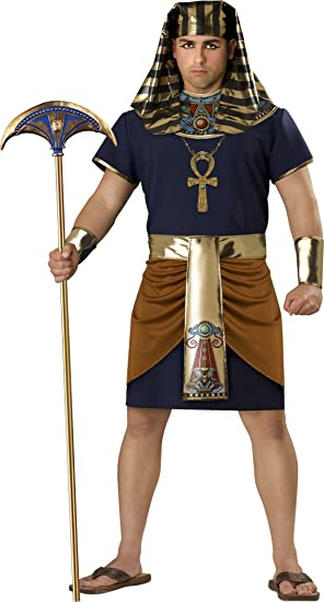 amazon com incharacter costumes men s egyptian pharaoh costume