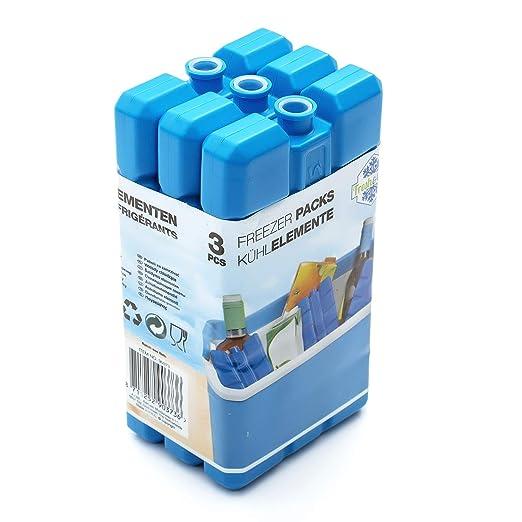 Paquete de 3 Refrigerante Relleno Bloques de Hielo para Congelador ...