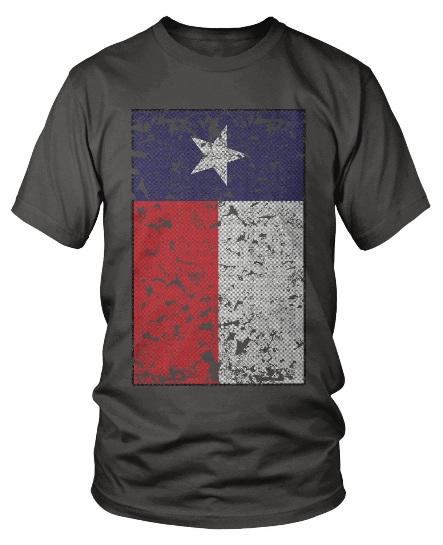 Overd Distressed Texas Flag Texas Pride T Shirt 6700