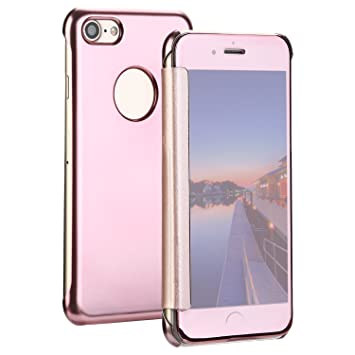 coque iphone 8 silicone rose