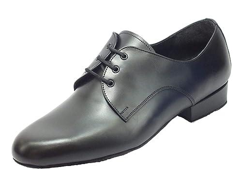 A basso prezzo prese di fabbrica San Francisco Scarpa da Uomo per Ballo Standard Nappa Nero: Amazon.it ...
