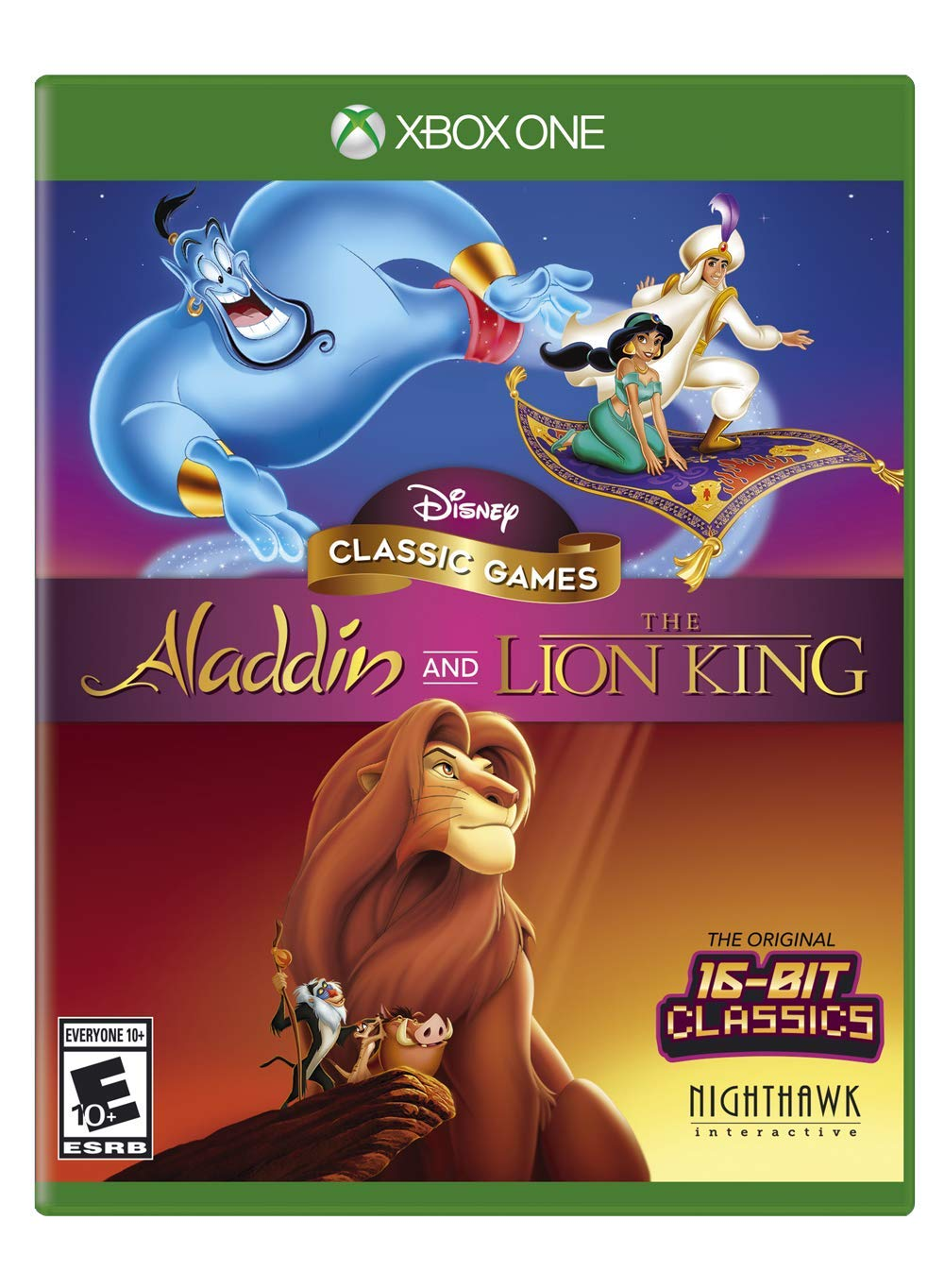 Disney Classic Games: Aladdin and the Lion King – Xbox One