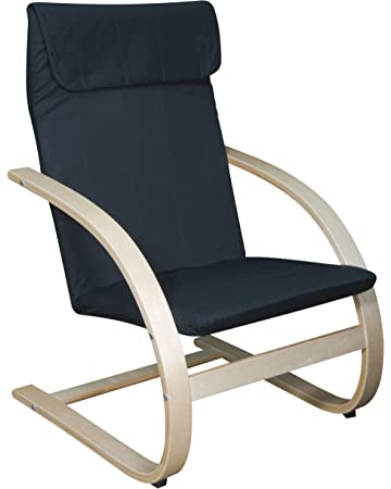 Outstanding Amazon Com Niche N2020Lntbk Mia Bentwood Reclining Lounge Evergreenethics Interior Chair Design Evergreenethicsorg