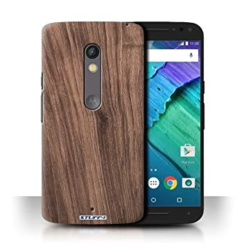 new concept 60ed1 b427c STUFF4 Phone Case / Cover for Motorola Moto X Play 2015: Amazon.co ...