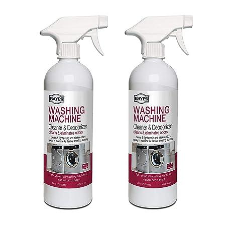 BAYES Limpiador y Desodorante para Lavadora - Limpia y Elimina el ...