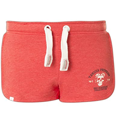 Yakuza Premium Shorts GJO-2241 Rot, XS