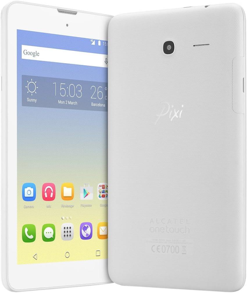 Alcatel Pixi 3 9007 X Smartphone Libre 4 G (Pantalla: 4 Pulgadas ...