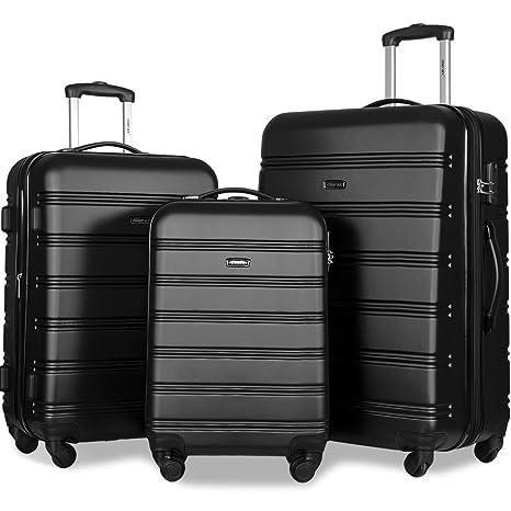 Review Merax Travelhouse Luggage Set