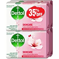 Dettol Skincare Anti-bacterial Bar Soap 165g Pack Of 4 At 35% Offe - Rose & Blossom