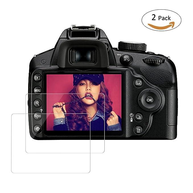 tedgem Protector de pantalla para Nikon D3100 D3200 D3300 D3400 ...