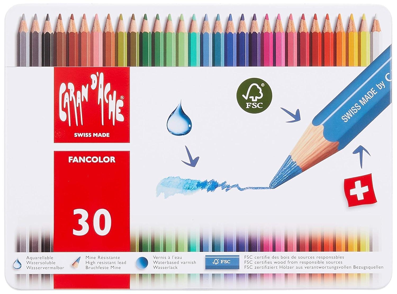 Caran dAche Fancolor Color Pencils 40 Colors Caran d?Ache 1288.340 reikos/_0019522742AM/_0003388