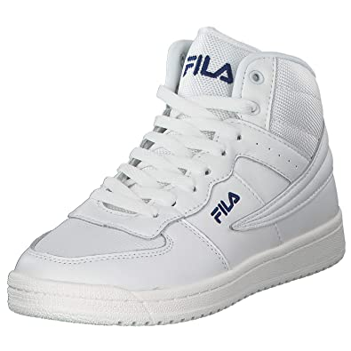 Fila Scarpe Sneakers a collo Alto Donna Block MID in Pelle
