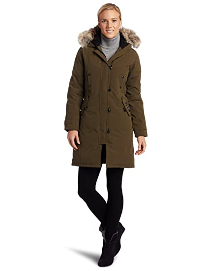 98c2c7bff160 Amazon.com  Canada Goose Women s Kensington Parka Coat  Clothing