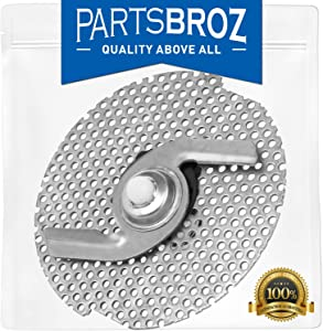 W10083957V Chopper for Whirlpool Dishwasher by PartsBroz - Replaces Part Numbers AP5983779, WP8268383, 8268383, W10083957, PS11722146, W10083957VP, WP8268383VP