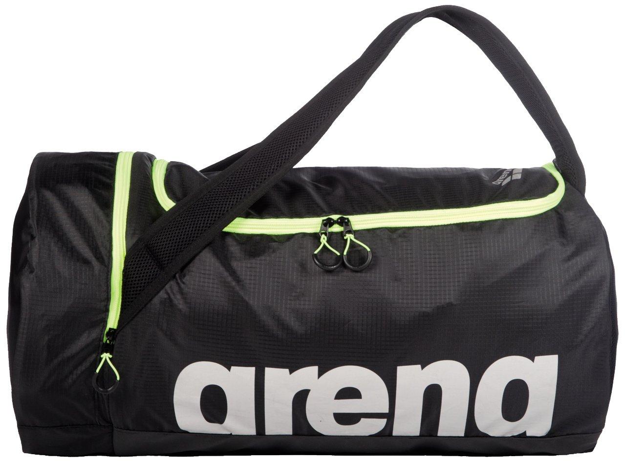 arena FAST Swim Duffle Bag, Yellow / Black