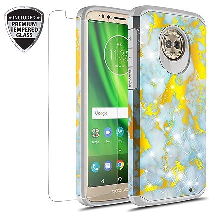 Amazon.com: Funda para Motorola Moto G6 Plus con protector ...