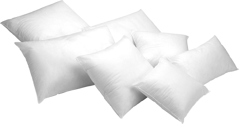 Todocama – Pack de 2 Unidades. Relleno de cojín con Fibra Hueca siliconada de Gran Volumen. Hipoalergénicas. (Todas Las Medidas Disponibles). (Pack 2 Unidades 30x50 cm)
