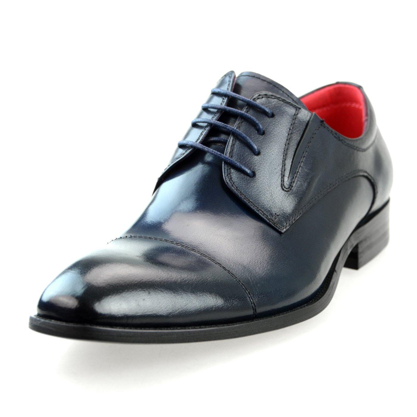 [ルシウス] LUCIUS 本革 ビジネスシューズ ドレスシューズ メンズ レザー 革靴 紳士靴 【AZ114B】 B00V9N8EJQ 26.0 cm 3E|LLT700-1 ネイビー LLT700-1 ネイビー 26.0 cm 3E