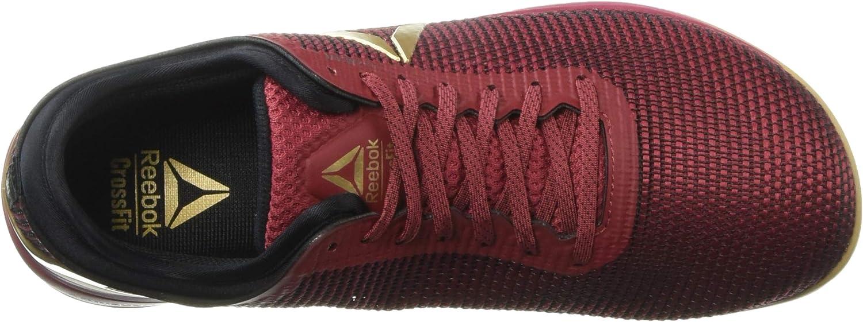 Reebok Men's Crossfit Nano 8.0 Flexweave Sneaker Meteor Red/Black/Brass