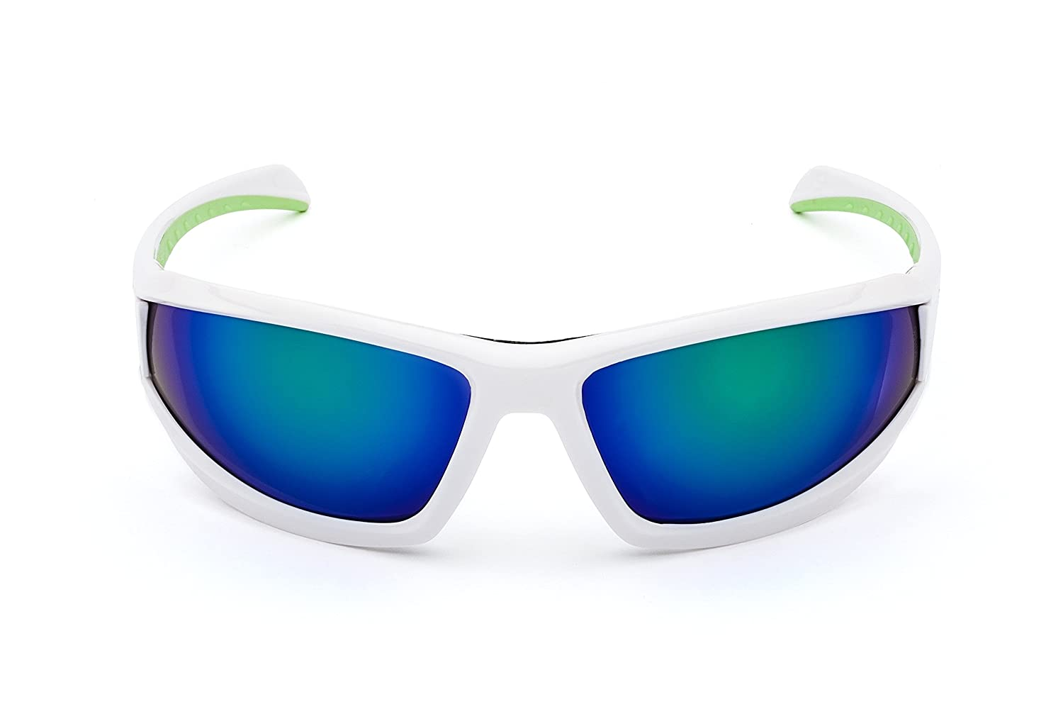 bc22abd65d4 Amazon.com   MORR MARRCONI Z75 Sport Sunglasses with Mirrored Lenses and  Protective Foam Padded Frame for Mountain Bike