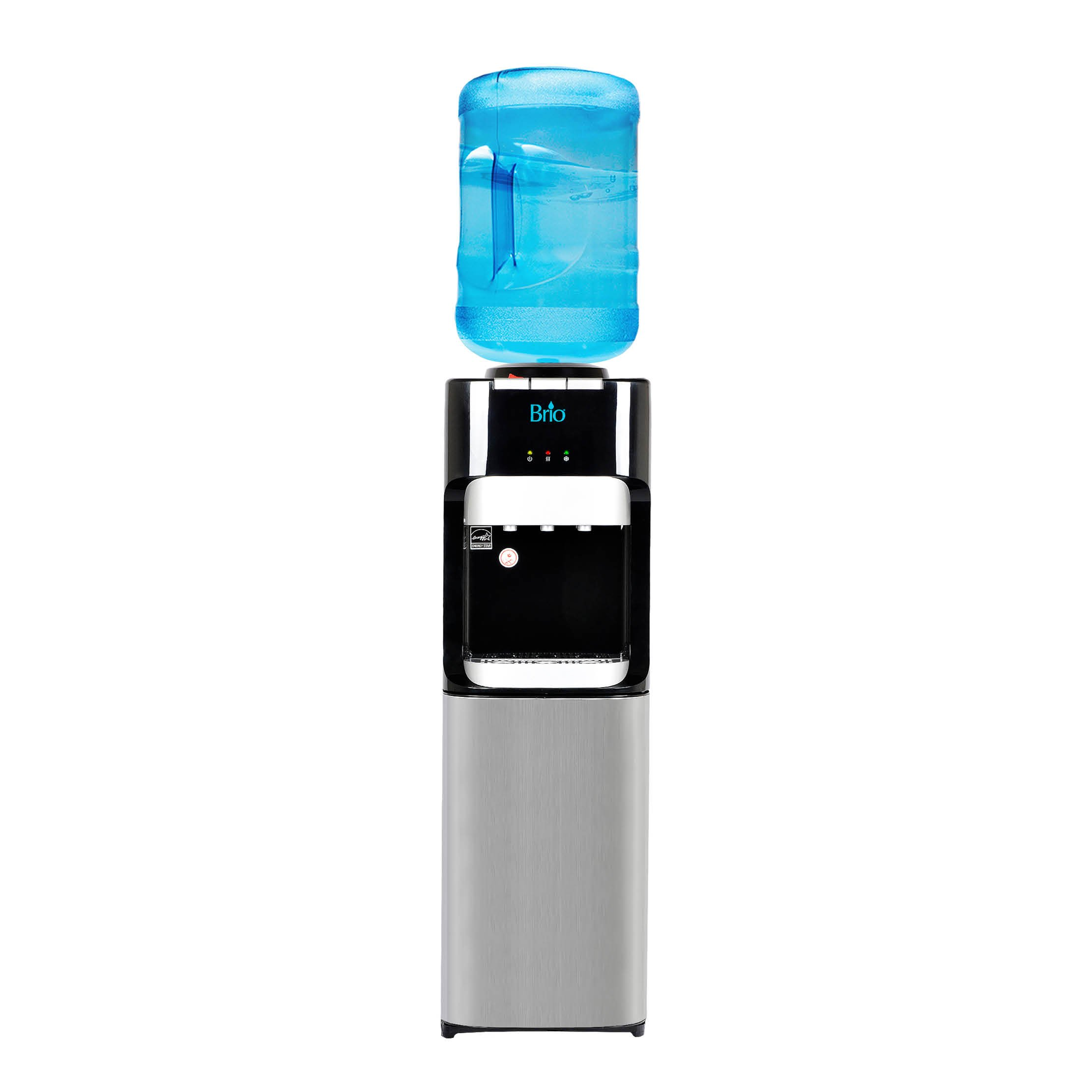 Brio Essential Series Top Load Hot, Cold & Room Water Cooler Dispenser