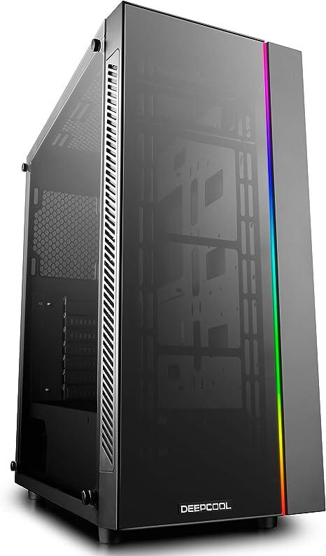 DeepCool Matrexx 55 Add-RGB Caja ATX USB 3.0 PC Gaming 0,6 mm SPCC ...