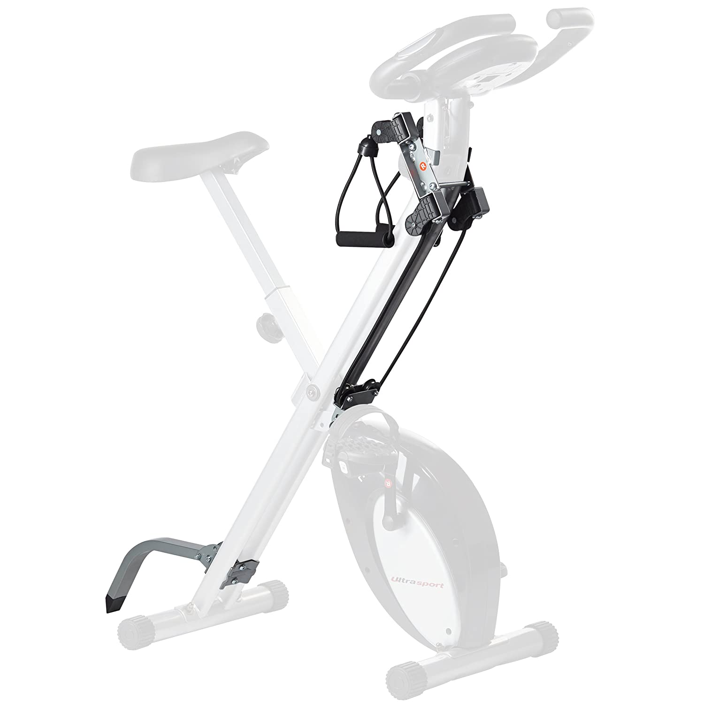 Ultrasport F-Bike, Trainer da Casa con Sensori delle Pulsazioni, Ripiegabile Unisex Adulto Summary