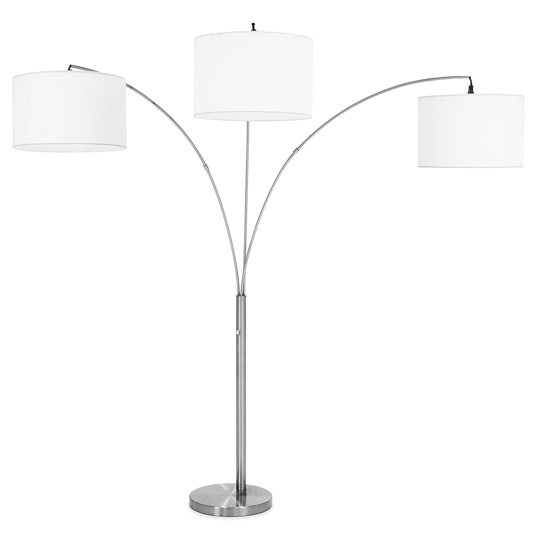 Best Choice Products Home Decor 3 Light Arc Floor Lamp Winfinite