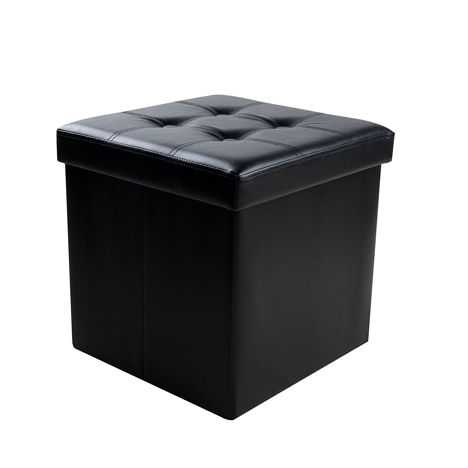 Sable Storage Ottoman Cube Foldable Bench, 15