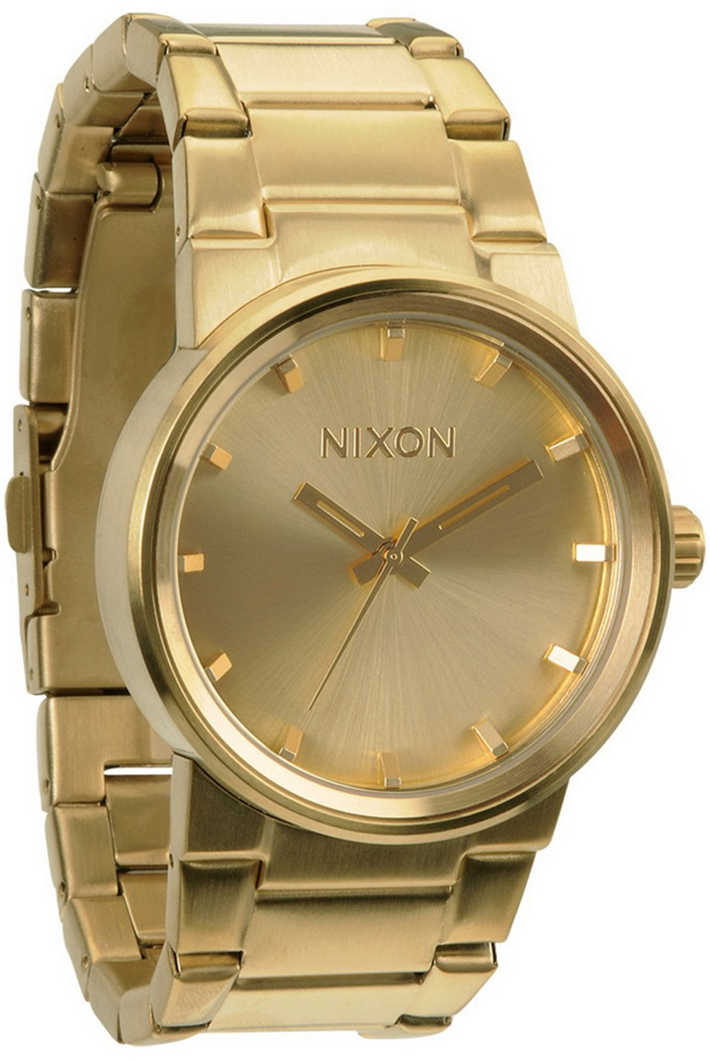 Nixon The Cannon A160502 Unisex Gold Plated Watch by NIXON