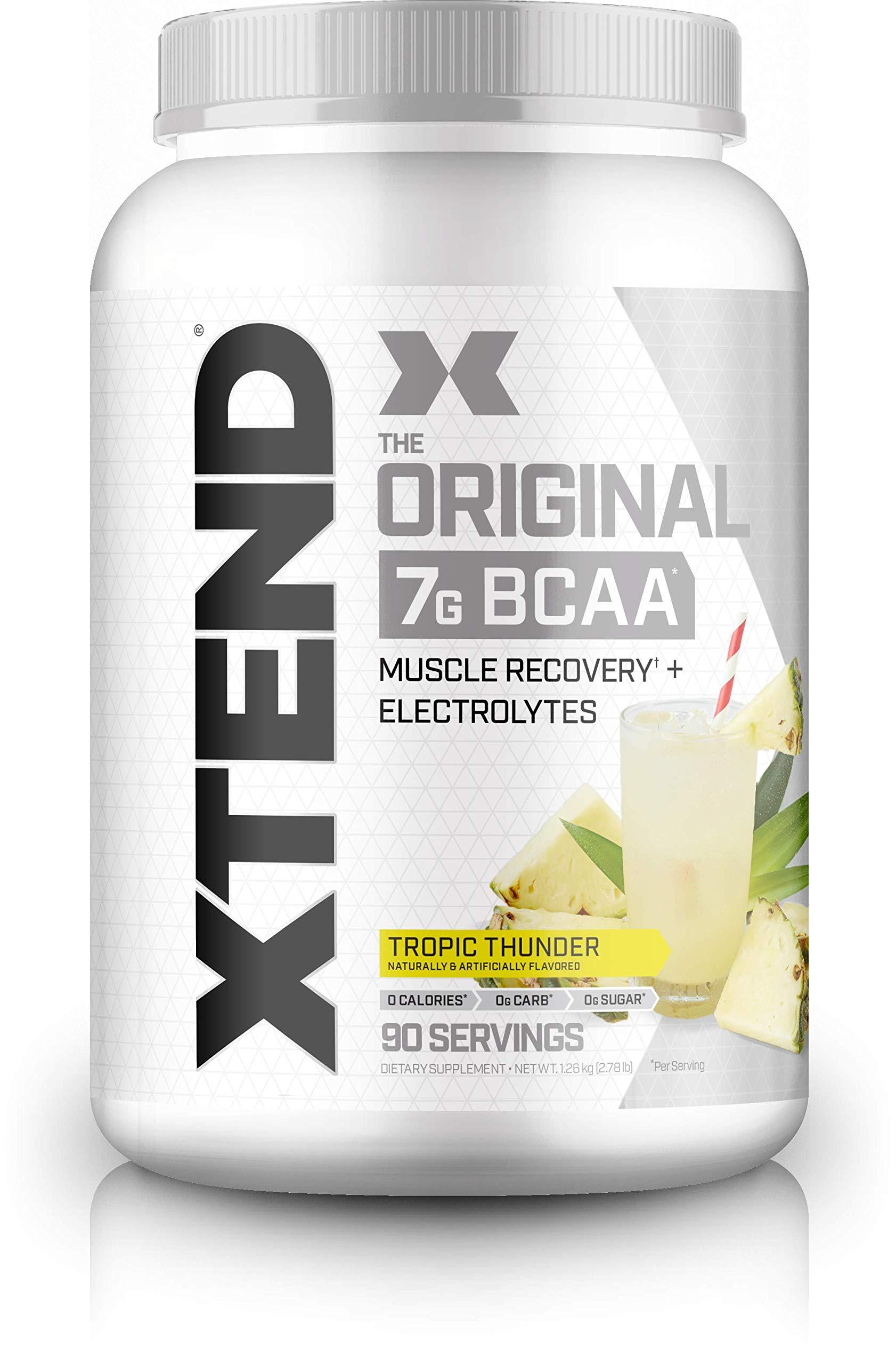 Scivation - Xtend - Suplemento de aminoácidos de cadena ramificada (BCAA) - Piña -