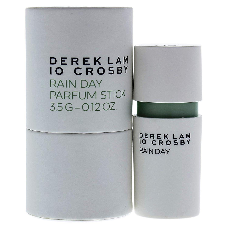 Derek Lam 10 Crosby | Rain Day | Eau De Parfum | Woody and Aromatic Scent | Solid Stick Perfume for Women | 0.12 Oz