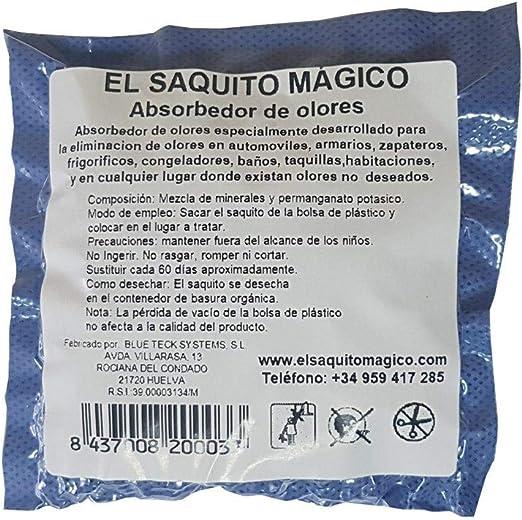 EL SAQUITO MAGICO Basic, Elimina los Malos olores sin ambientador ...