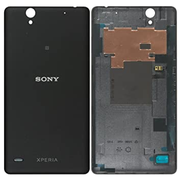 new york 0ec8a 173a5 Original Sony Battery Cover in Black for Sony Xperia C4: Amazon.co ...