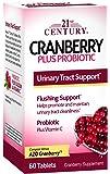 21St Century Cranberry Plus Probiotic 60 Tablets