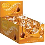Lindt LINDOR Truffles, 60 Count Box. Caramel Milk Chocolate