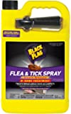 Black Flag HG-11093 Flea & Tick Killer Home Treatment with Growth Regulator Spray, 1 gallon