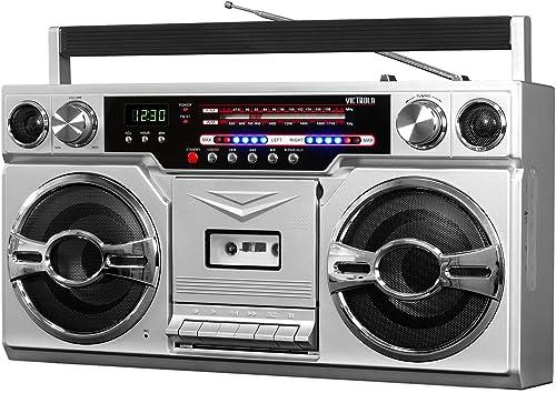Victrola VBB-10-SLV Bluetooth Boombox review