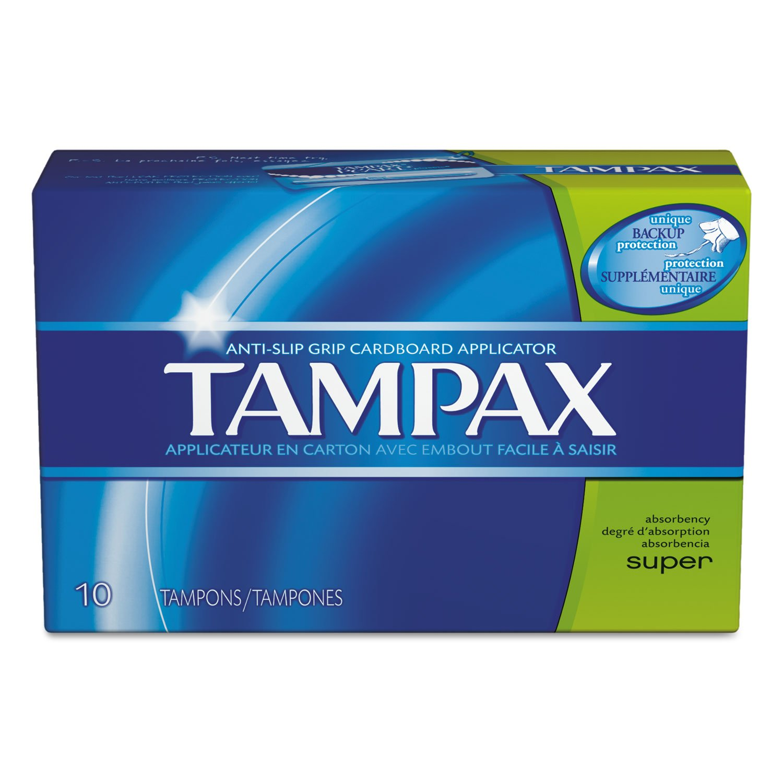 Tampons, Super, 10/box, 48 Box/carton