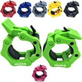 "Greententljs 2 Inch Barbell Clamps Quick Release Pair of Locking 2"" Inch Pro ABS Locking Olympic Size Workout Professional Barbell Secure Snap Latch for Squat Weightlifting/Powerlifting"