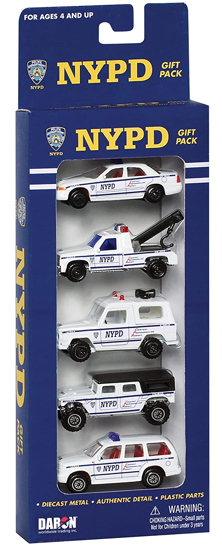 Daron Nypd Vehicle Gift Set, 5-Piece Daron World wide Trading Inc. RT8610