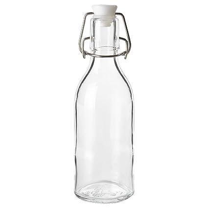 IKEA SOMMAR 2017 – Botella con tapón de vidrio transparente