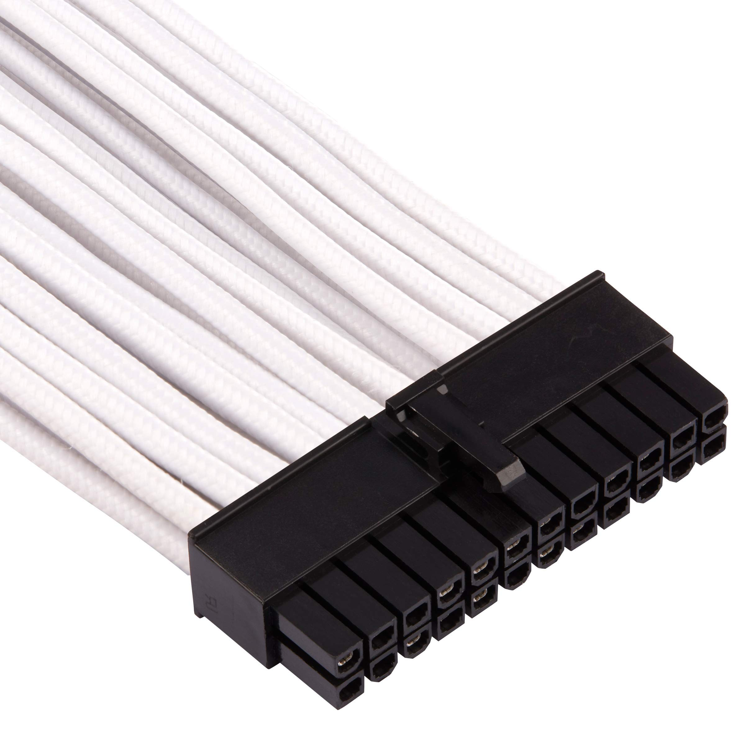 CORSAIR Premium Individually Sleeved PSU Cables Starter Kit - Black, 2 Yr Warranty, for Corsair PSUs by Corsair (Image #4)