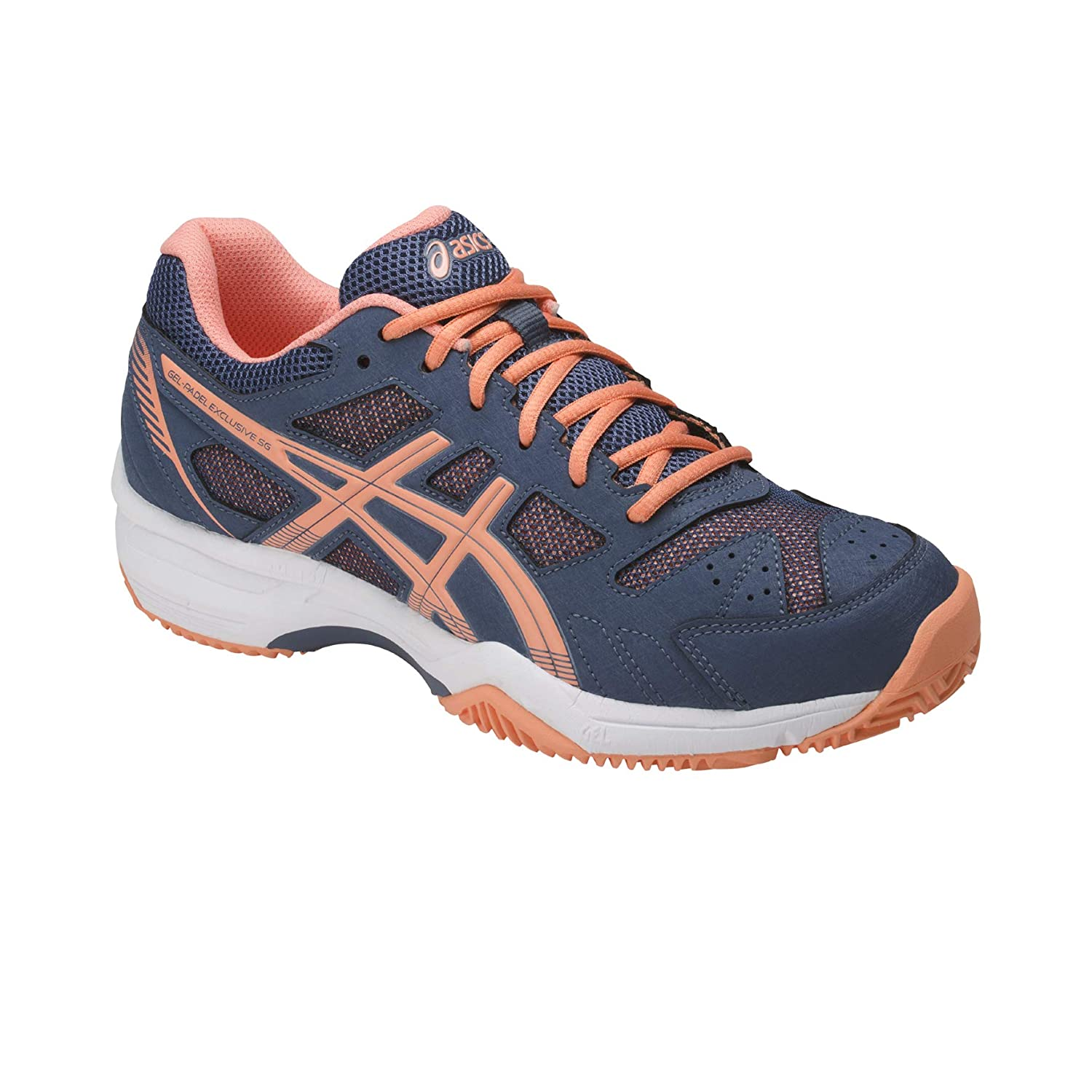 Asics Gel-Padel Exclusive 4 SG Smoke Blue/Canteloupe 41m ...