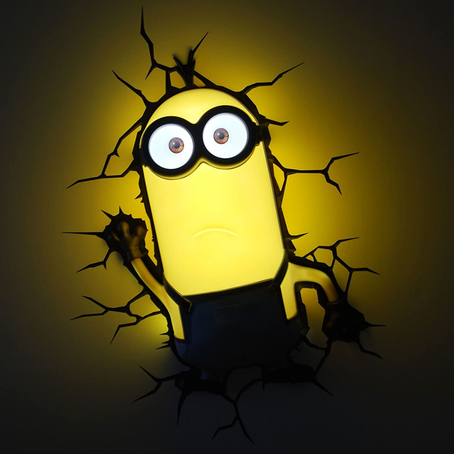 Amazon.com: Minions Kevin 3D Deco LED Wall Light: Home & Kitchen