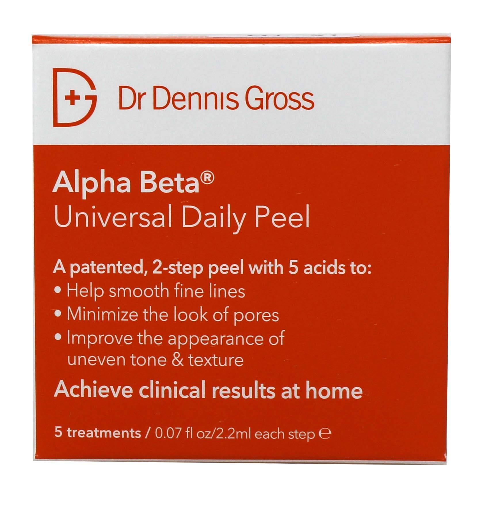 Dr. Dennis Gross Skincare Alpha Beta Peel Original Formula Packets, 5 Count