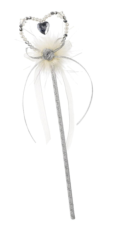 Rose & Romeo - 11017 - Accessoire Pour Déguisement - Baguette - Libby - Argent